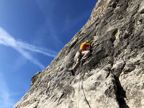 Spigolo Zero Climbing Route