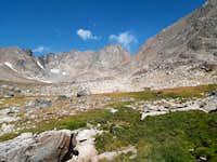 Granite from base camp