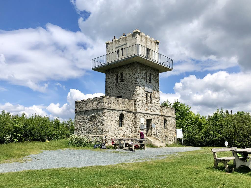 The lookout tower on Írottkő