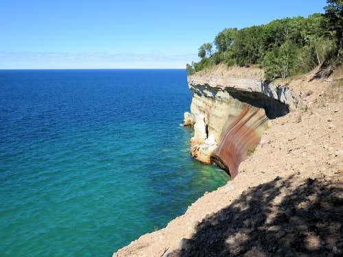 Pictured Rocks, Mosquito Beach to Miners Castle