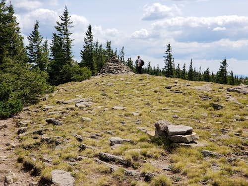 Summit of Mt Baldy