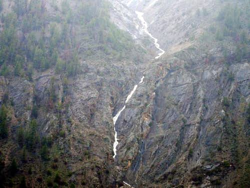 Rock Roll Canyon below Rock...
