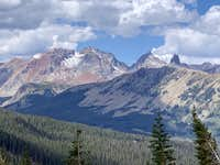 Mount Wilson massif seen from the west side of Vermilion.