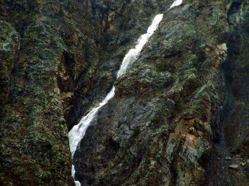 Rock Peak's impassable south...