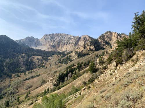 Deseret Peak from the south