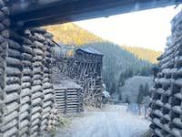 Creede's mining road