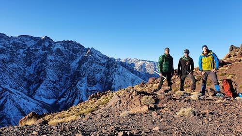 Jebel Angour - West Ridge Feb 2020