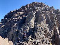 021.5_first_rock_step_west_ridge_Angour