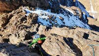 027.1_looking_down_first_rock_step_west_ridge_Angour