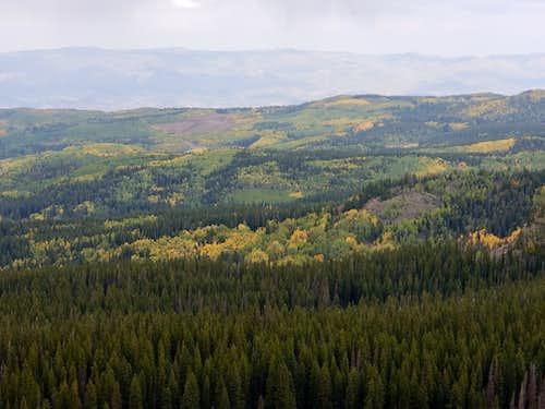 View from Pinyon Mesa