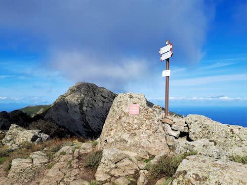Monte Capanne Via Ferrata from Monte Perone