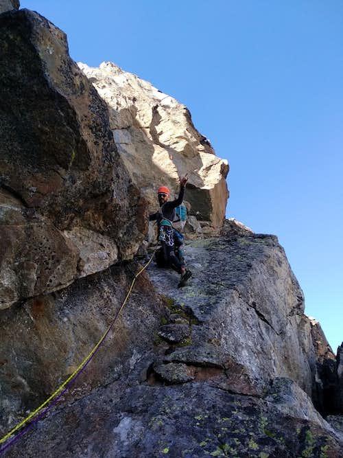 A long History ... Climbing on East Wall