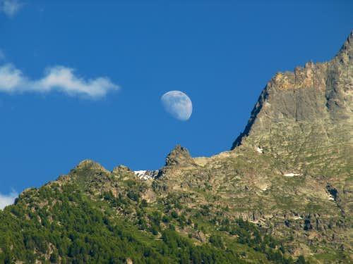 Lunar La Dent de la Becca di Nona