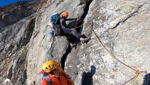 A long History ... First climbers on East Face