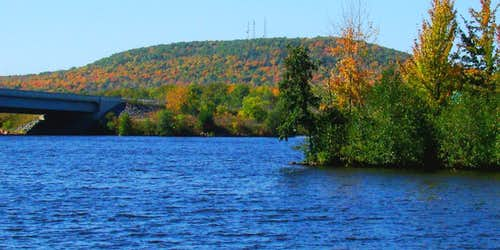 Rib Mountain and the Wisconsin River