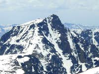 Whitetail Peak from the east...