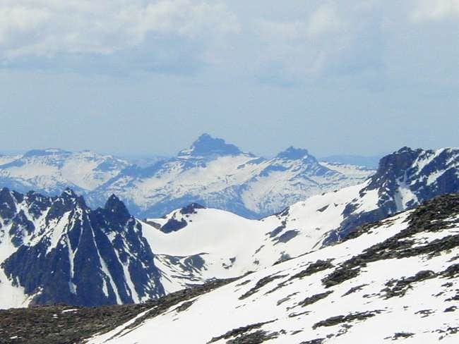 Pilot Peak from the east...