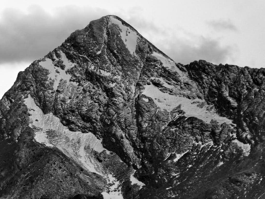 Punta Tersiva from Col des Bornes