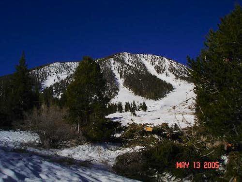 Charlton Peak from South Fork...