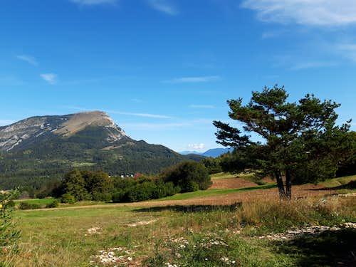 Monte Stivo seen from Monte Creino