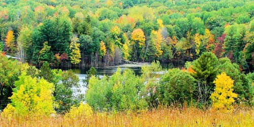 Autumn in the Chippewa Moraine Area