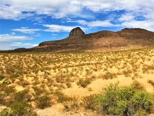 The Mitten - 5,020' - Greenlee County, AZ