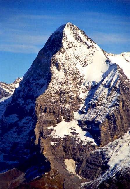 Eiger and Kleine Scheidegg...
