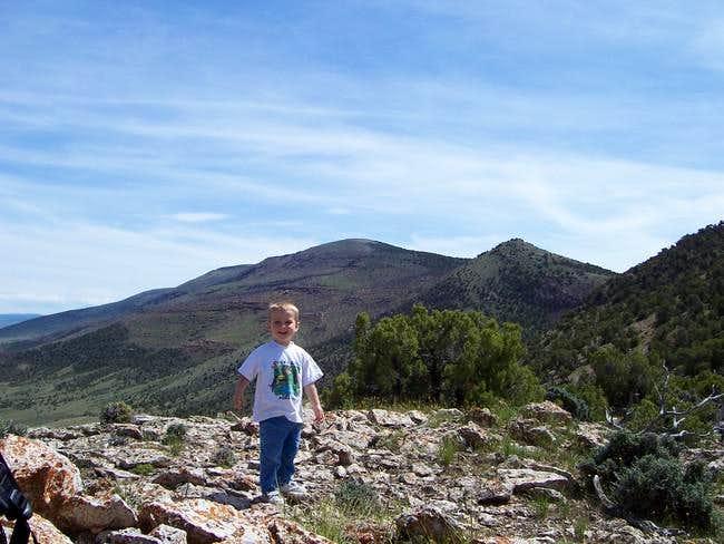 Kessler on the North Ridge...