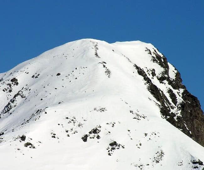 The peak of Monte Rosso di...