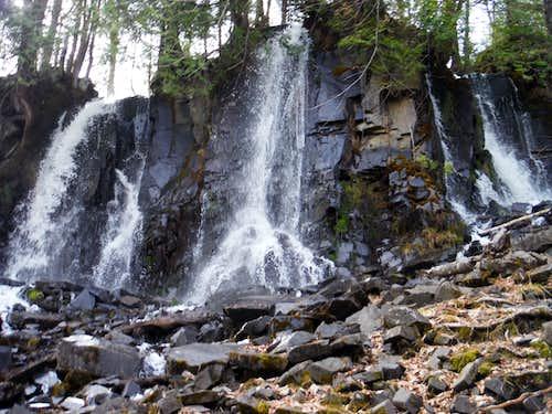 Border Route - Bridal Falls
