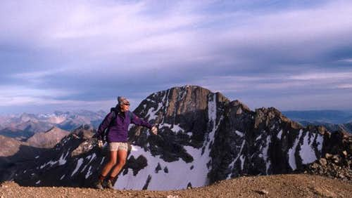 Frolicking on the high ridge....