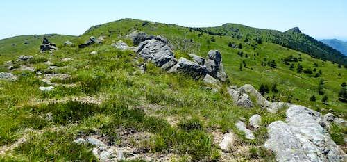 Monte Pennello and Punta Martin