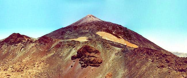 Teide (3178m) as seen from...