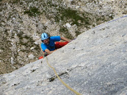 Odio la Guerra Climbing Route