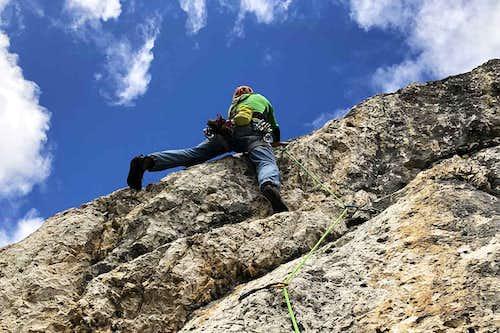 Bella e Monella Climbing Route