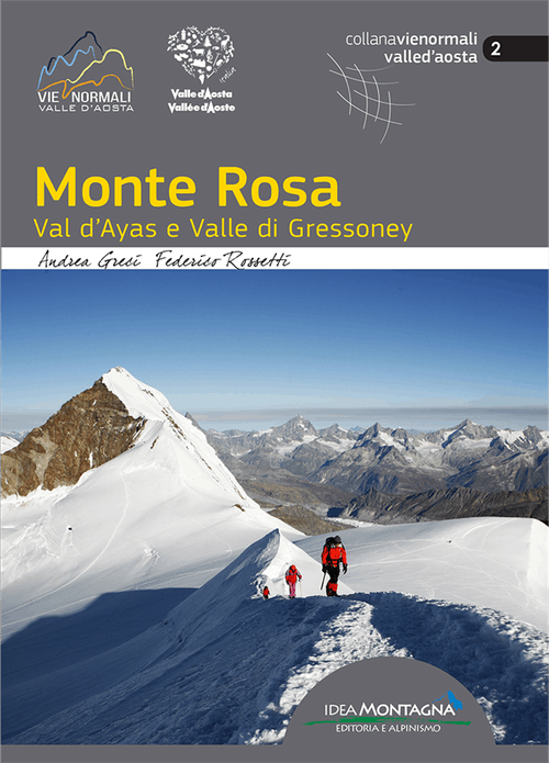 Monte Rosa Normal routes guidebook