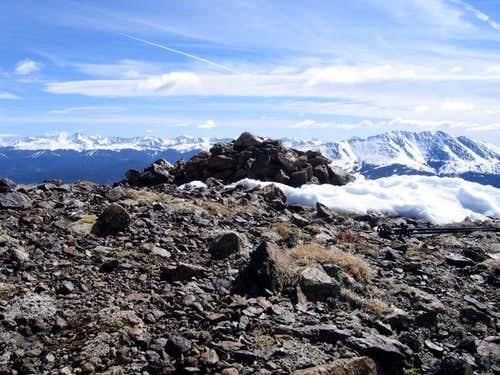 Mount Helen's Summit with the...