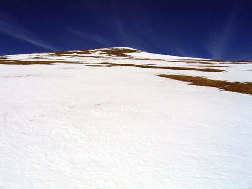 Mount Helen\'s summit pitch....