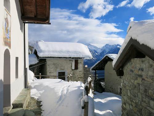 Champdepraz Valley, Aosta