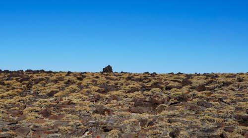 North summit of Nevada's Mt. Jefferson; Late Nov. 2020