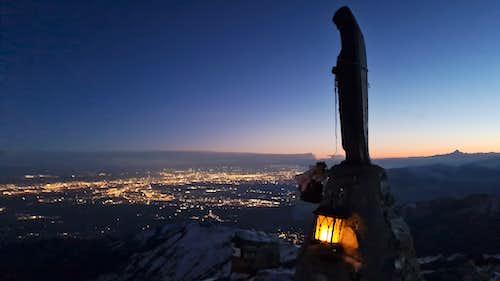 Sunset from Monte Soglio