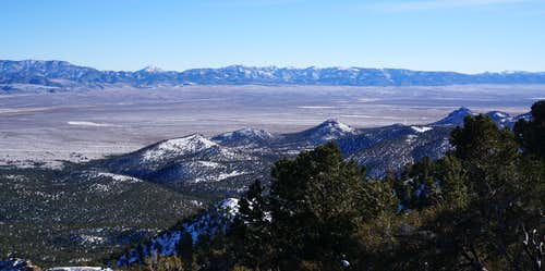 South end of Monitor Valley as seen from northwest