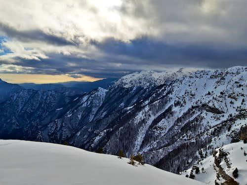 Monte Maggio winter loop