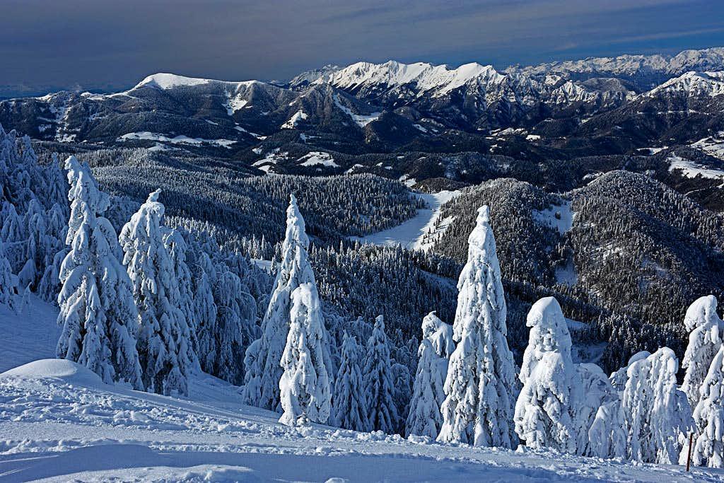 Julian Alps from Blegoš