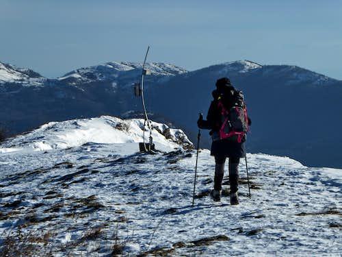 Going in winter from Creto to Alpesisa
