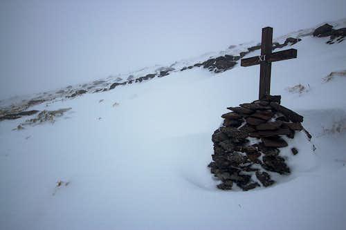 Christmas winter on Mount Brandon