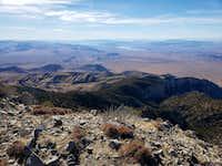 Looking SW towards Lake Mead