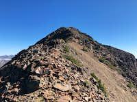 Red Mountain final summit ridge