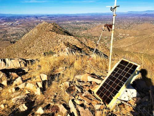 Summit of McDowell Mountain