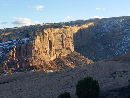 View from the Serpents Trail